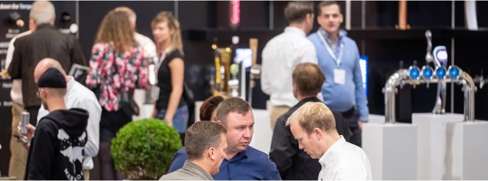 Trade fairs, trade fair events, beverage industry, participants, companies, exhibition