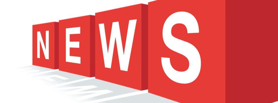 4 Würfel mit dem Wort NEWS.